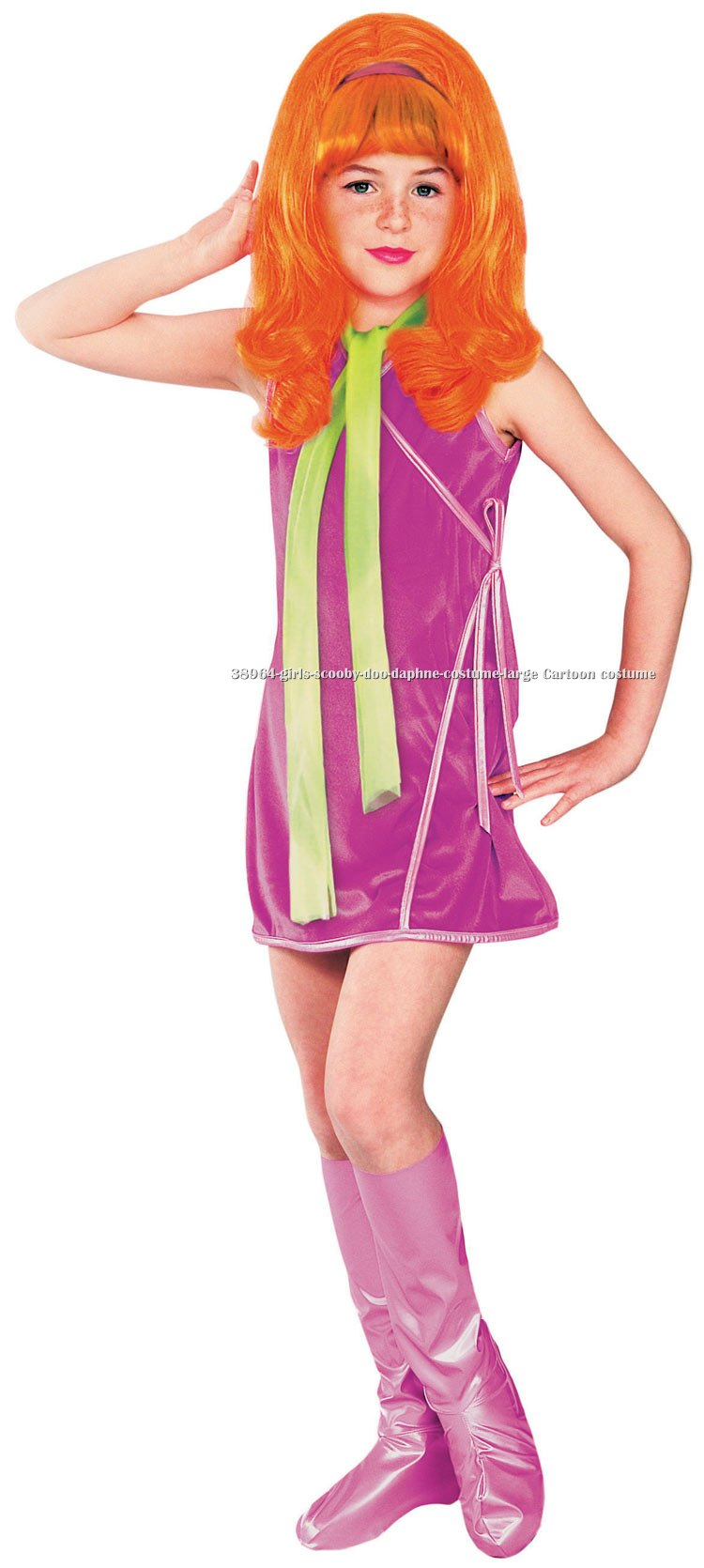 Girls Scooby-Doo Daphne Costume