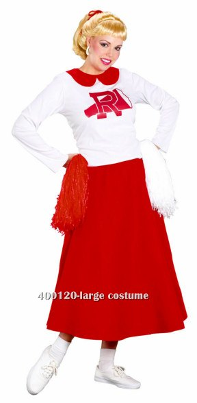 Adult Grease Rydell High Cheerleader Costume