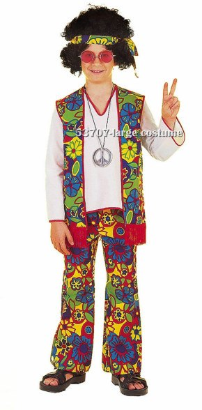 Kids Boy Hippie Costume