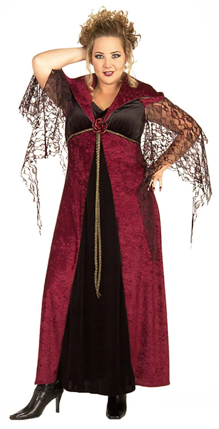 Plus Size Vampire De Morte Costume