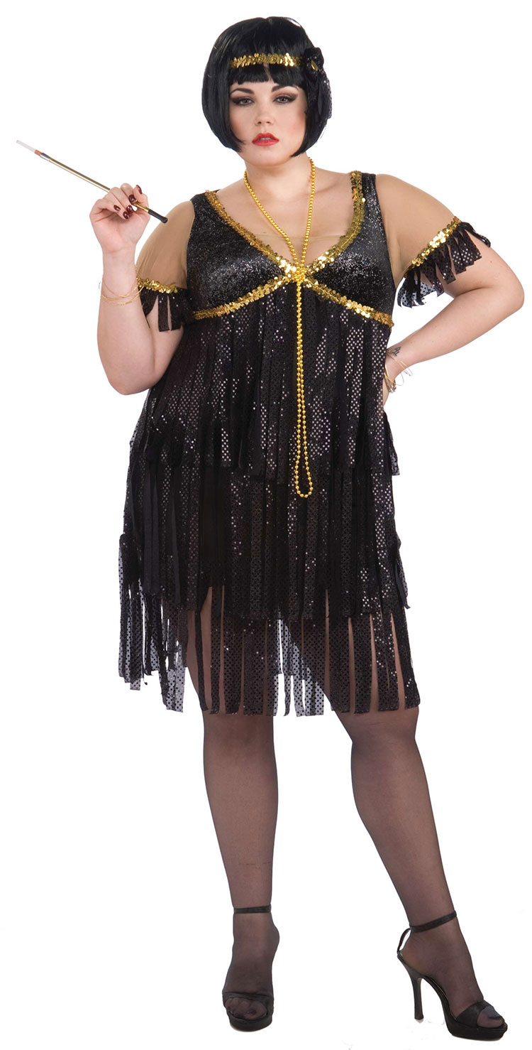 Plus Size Flapper Costume