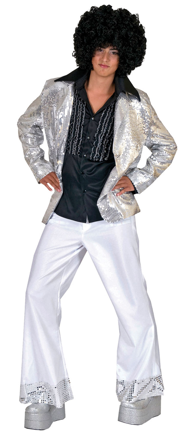 Silver Disco Costume Jacket