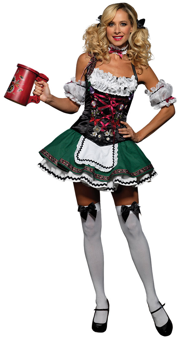 Sexy Super Deluxe German Beer Girl Costume