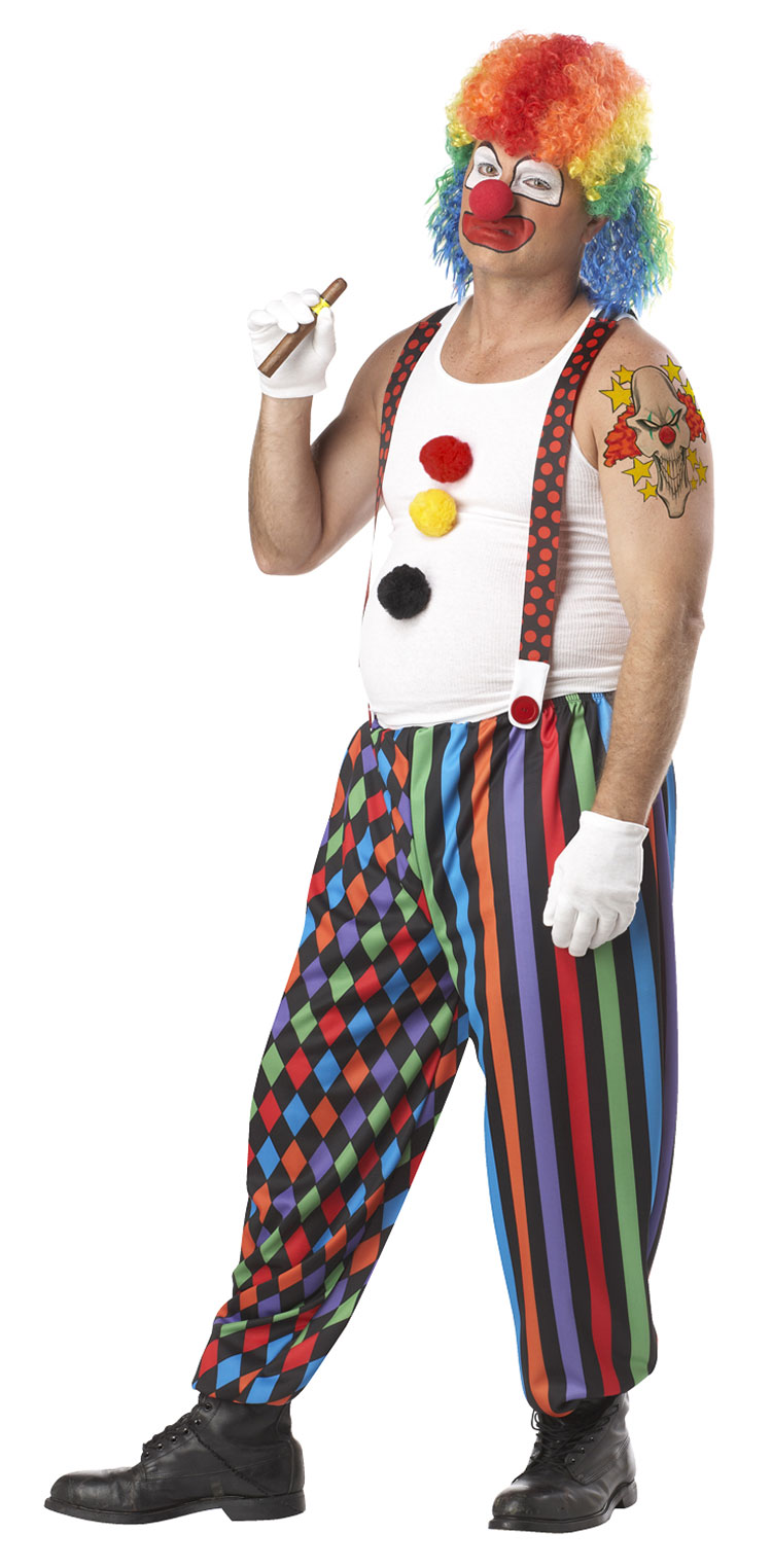 Cranky The Clown Costume