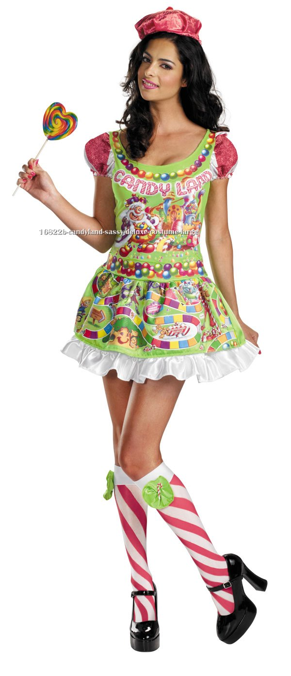 Candyland Sassy Deluxe Costume