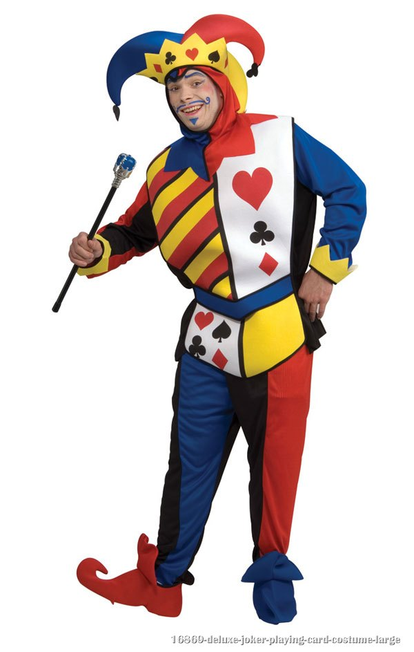 Deluxe Joker Playing Card Costume