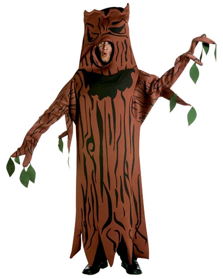 Light Weight Scary Tree Costume