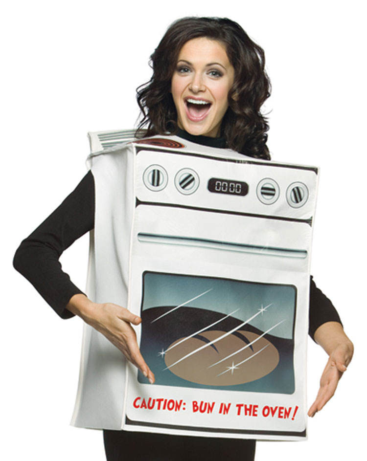 Light Weight Bun In The Oven Costume