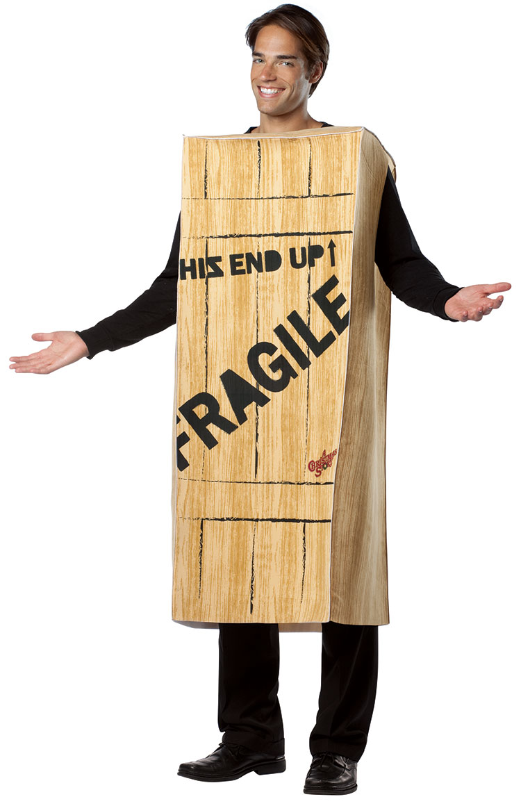 A Christmas Story Fragile Crate Costume