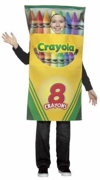 Kids Crayola Box Of Crayons Costume