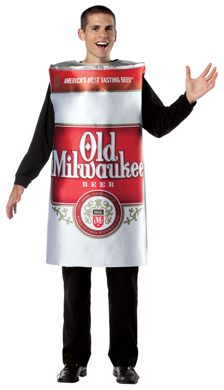 Old Milwaukee Beer Can Costume