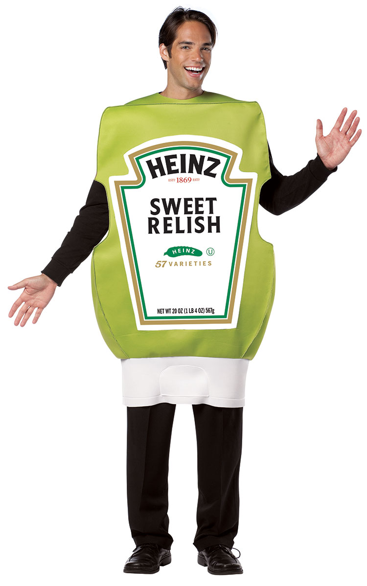 Heinz Squeeze Relish Bottle Costume