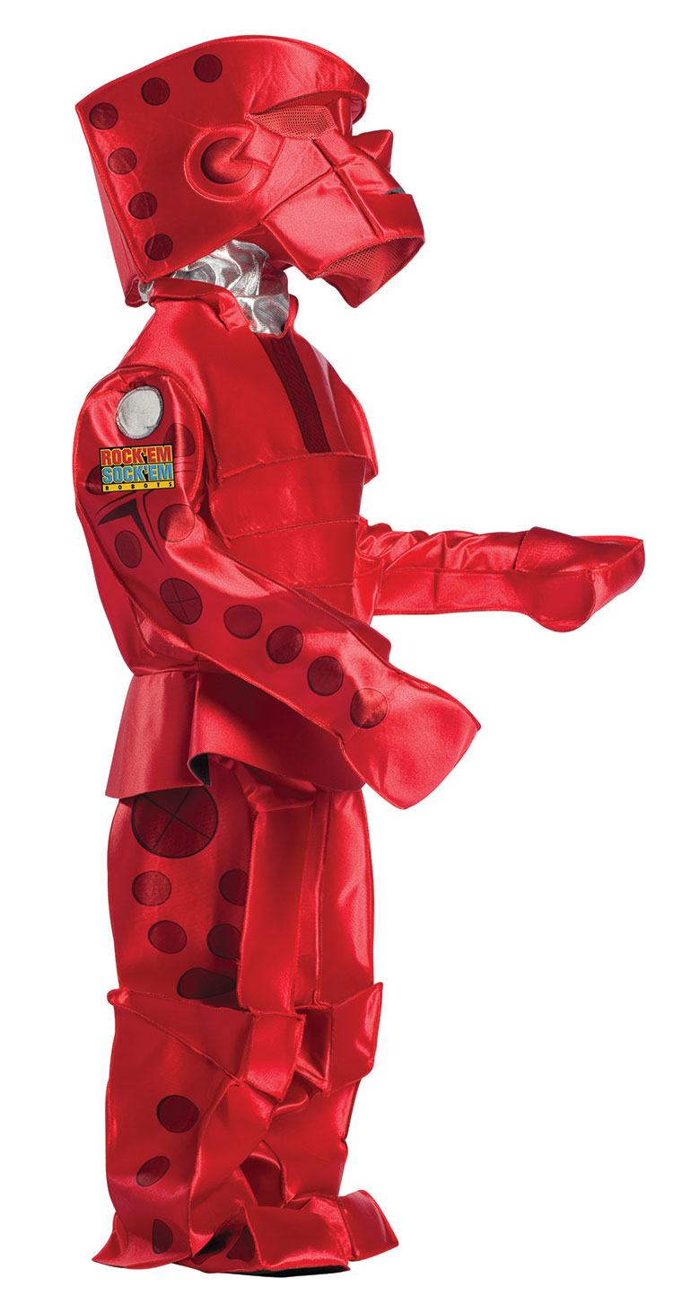 Kids Rock'em Sock'em Red Robot Costume