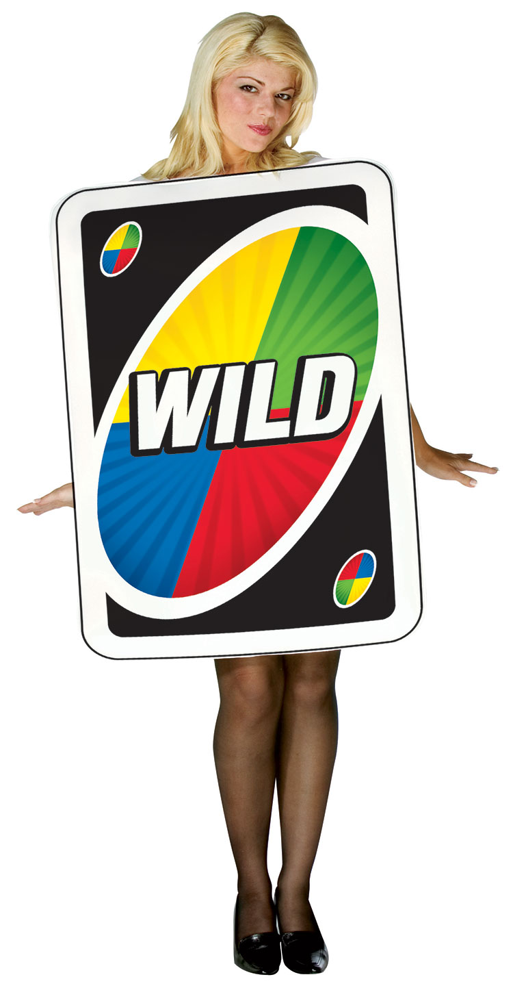 Uno Wild Card Costume