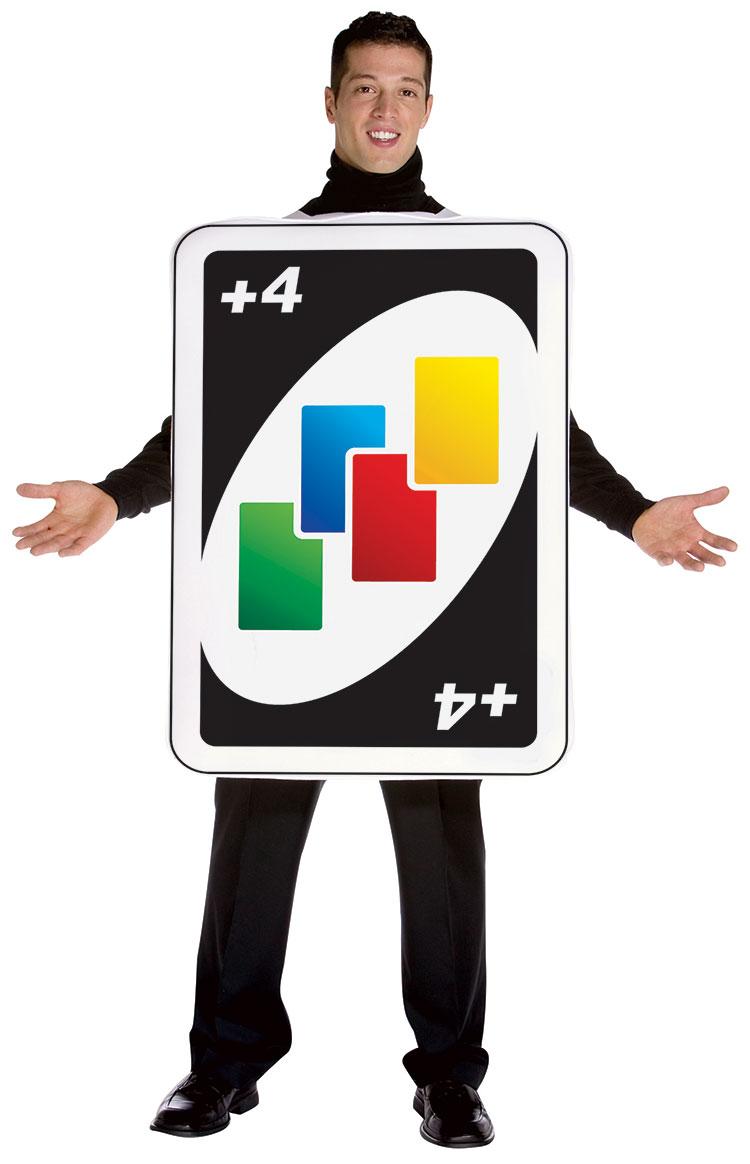 Uno Draw 4 Card Costume  sc 1 st  Costumes Life & Uno Draw 4 Card Costume : Costumes Life