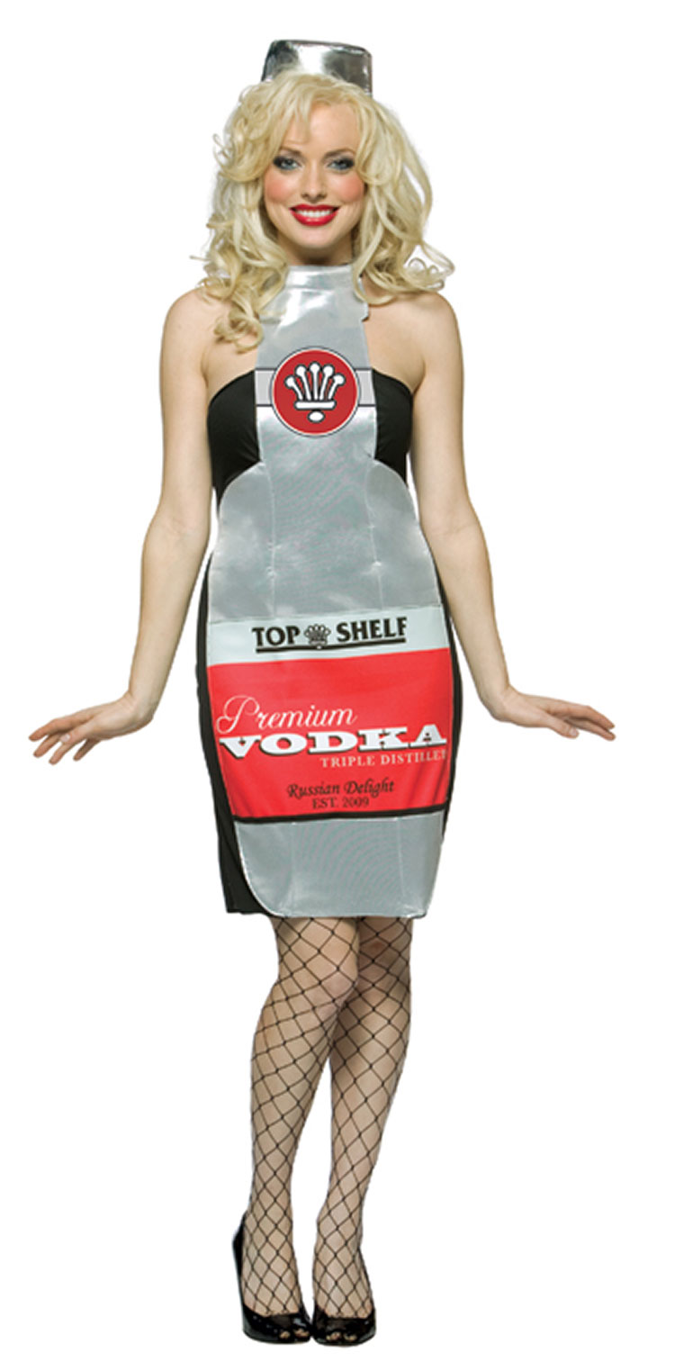 Top Shelf Vodka Costume Dress