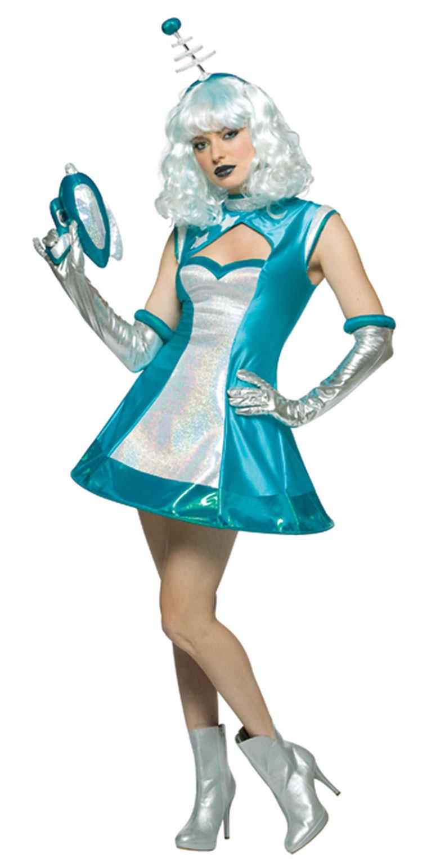 Космический костюм для девушки своими руками