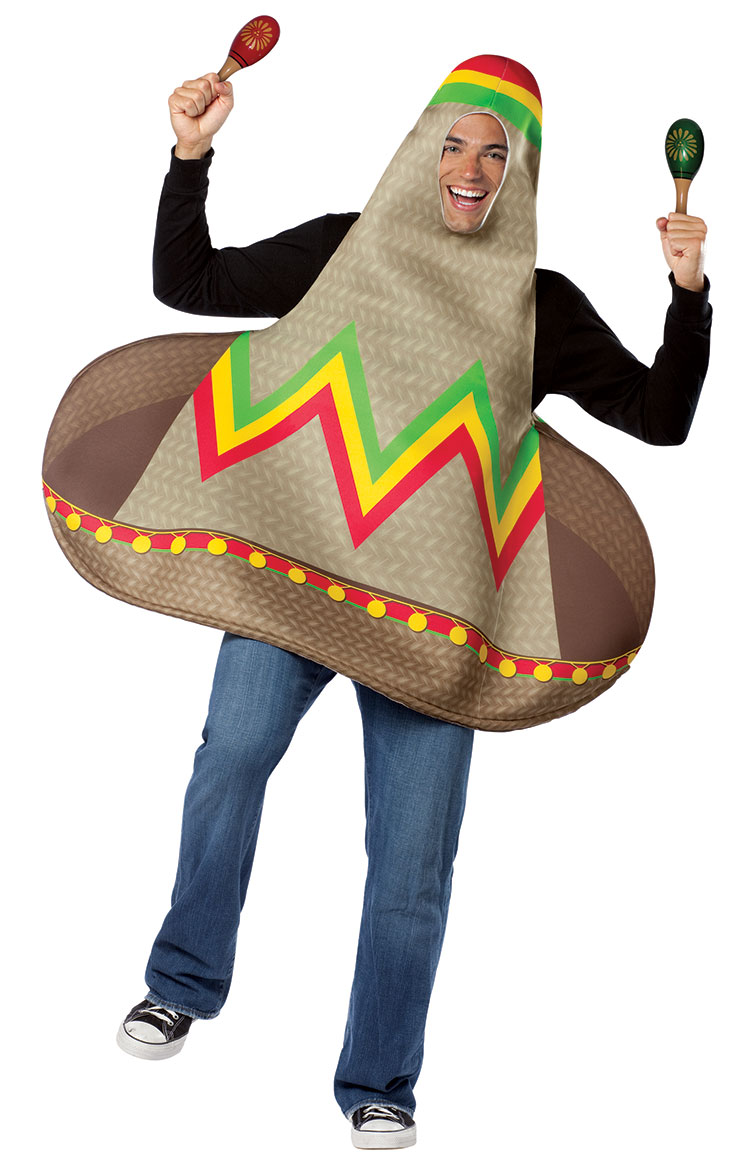 Mexican Dancing Hat Costume