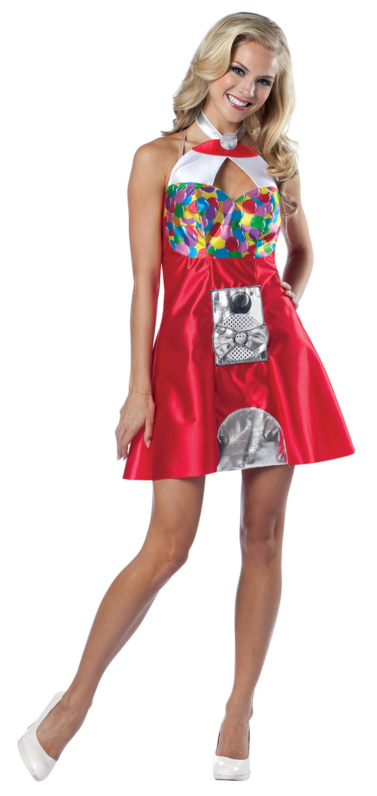 Gumball Machine Costume Dress