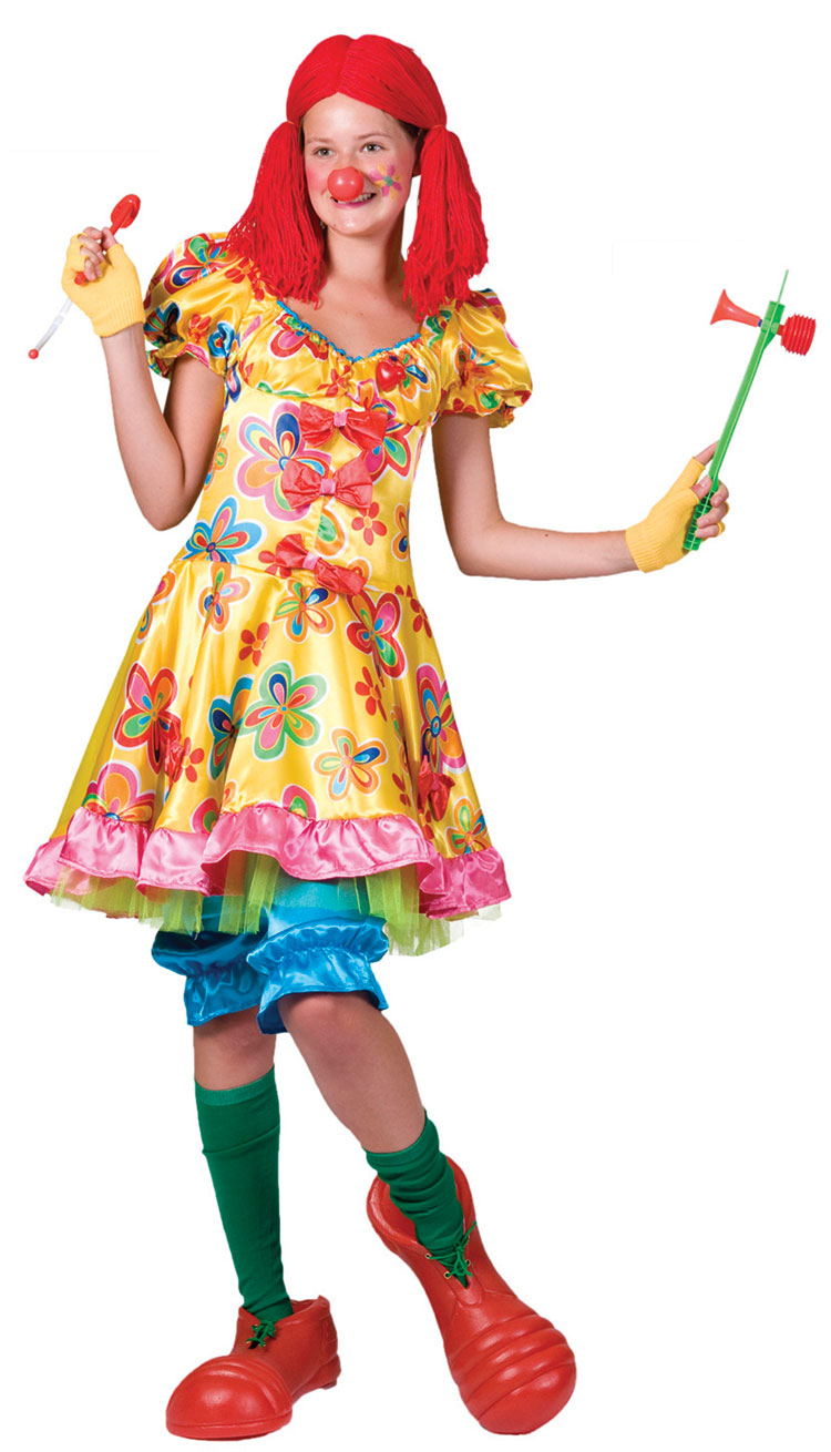 Oops-a-daisy Clown Costume