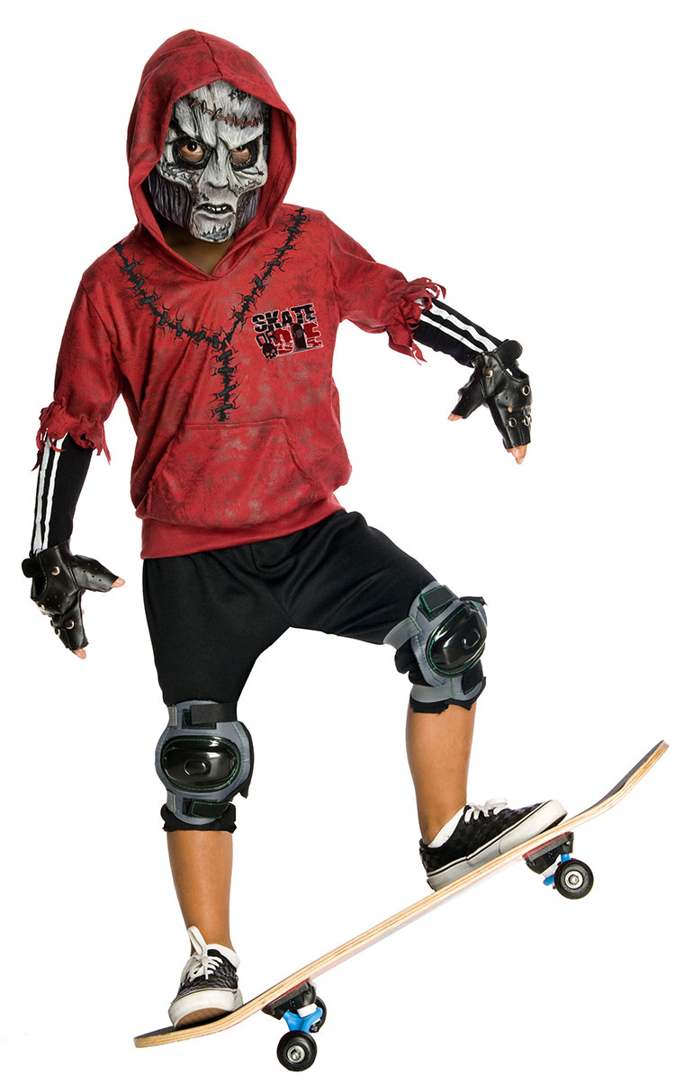 Kids Stitches Skater Costume - Click Image to Close