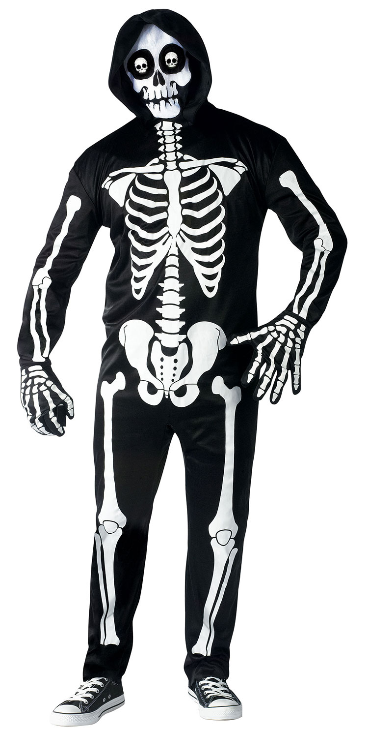 Fright Light Skeleton Costume