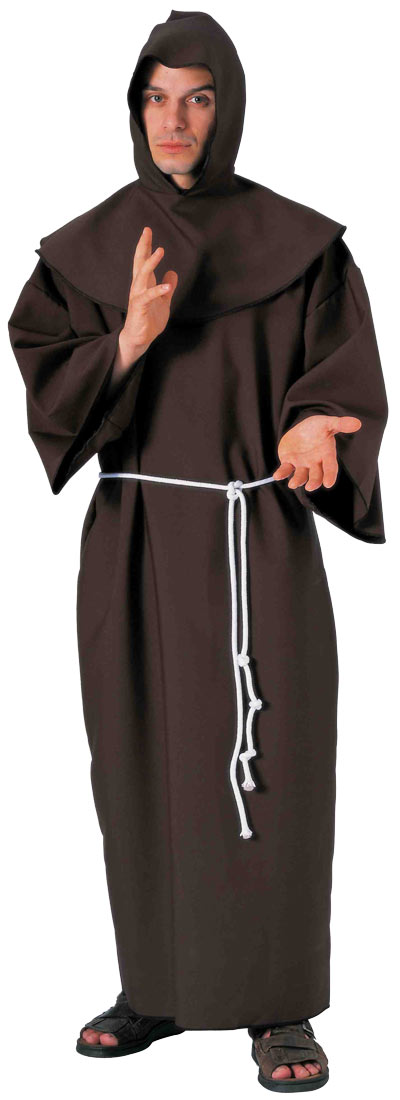 Super Deluxe Medieval Monk Costume