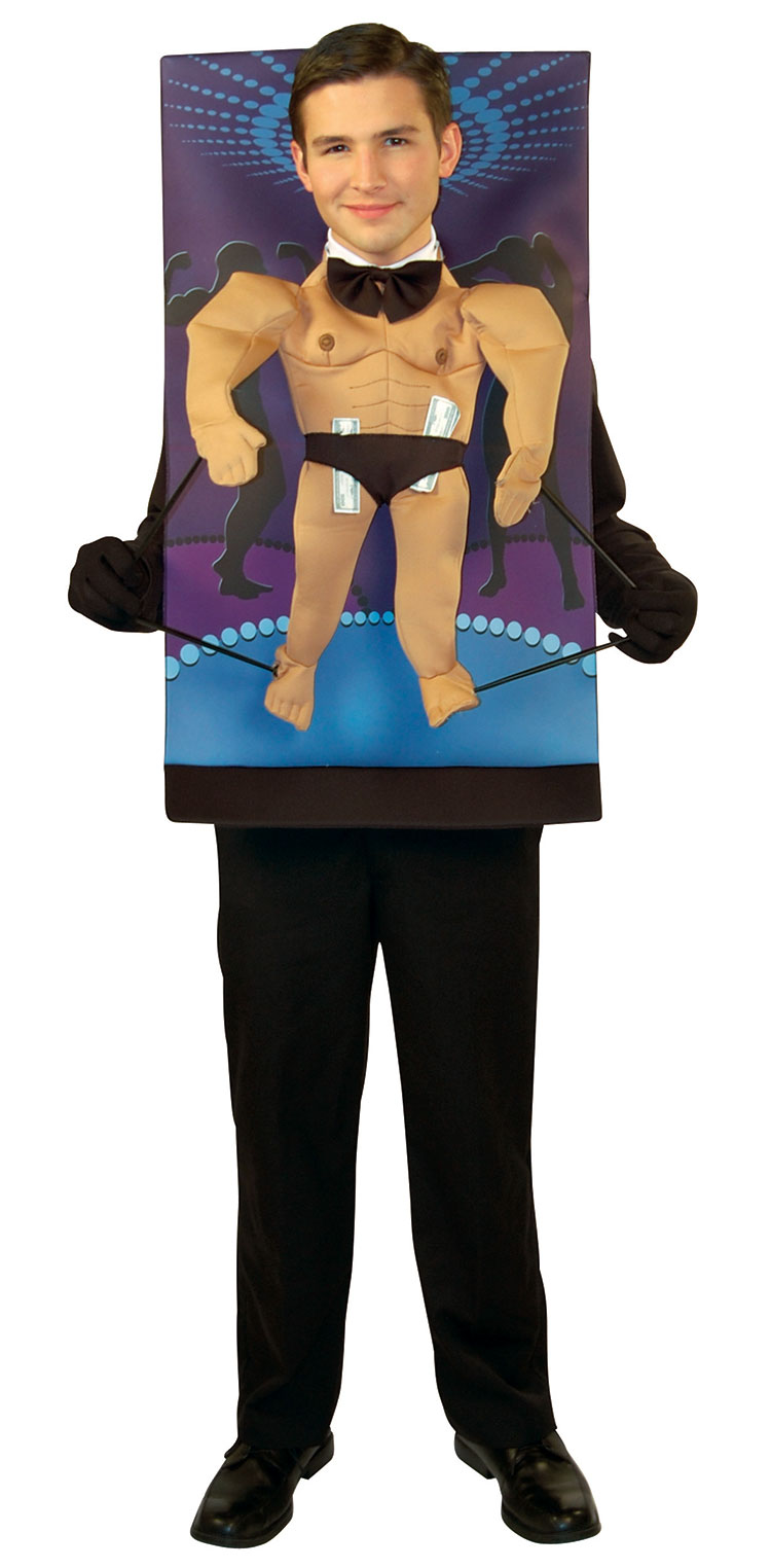 Teenie Weenie Male Stripper Costume