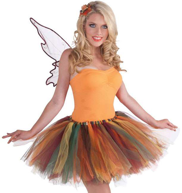 Autumn Fairy Tattered Tutu