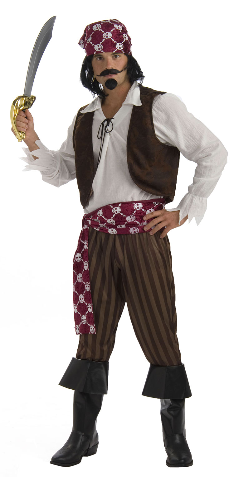 Ship Wrecked Pirate Costume