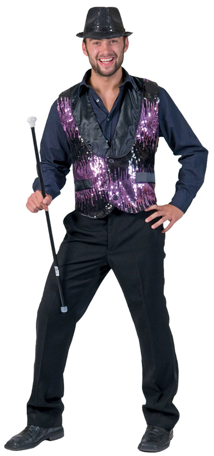 a3cf39a9c Purple All That Jazz Costume Vest : Costumes Life