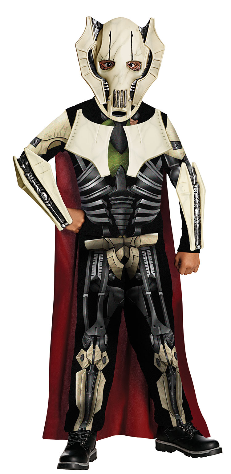 Kids General Grievous Costume - Click Image to Close