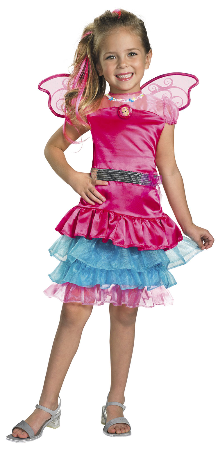 Girls Fairy Secret Barbie Costume