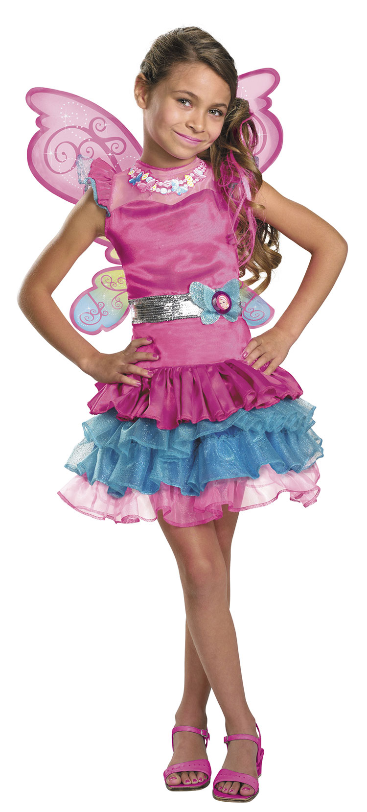 Girls Deluxe Fairy Secret Barbie Costume