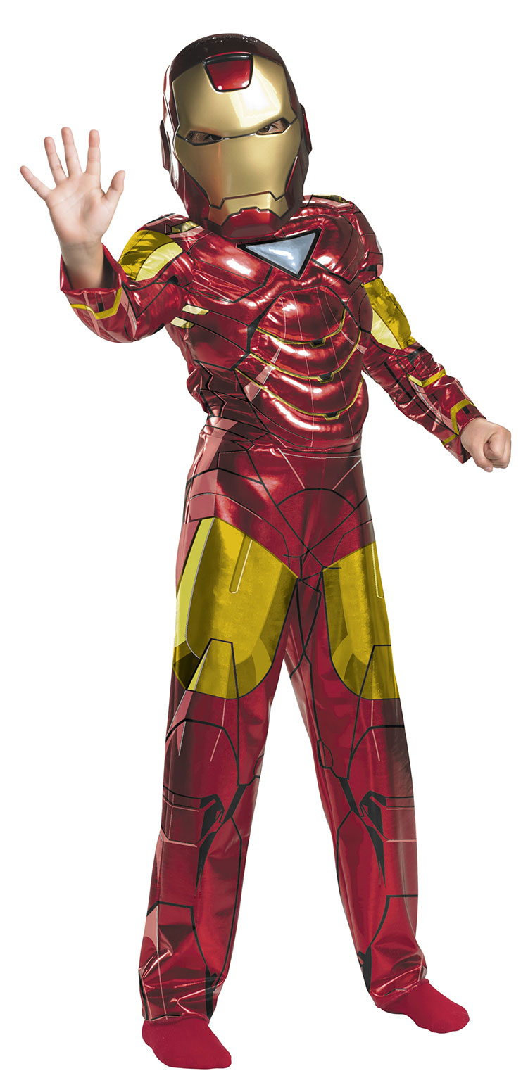 Iron Man Costumes Iron Man is a Marvel Comics character who has been featured in many different movies both from his own story arc as well as his membership in the Avengers team. For the past few years Iron Man suits for boys as well as men have been great sellers.