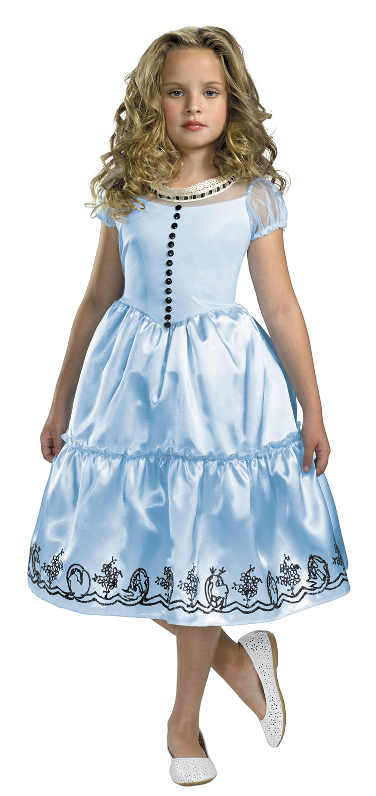 Classic Alice Costume For Girls and Toddler