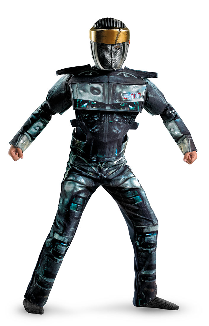 Deluxe Real Steel Atom Kids Costume