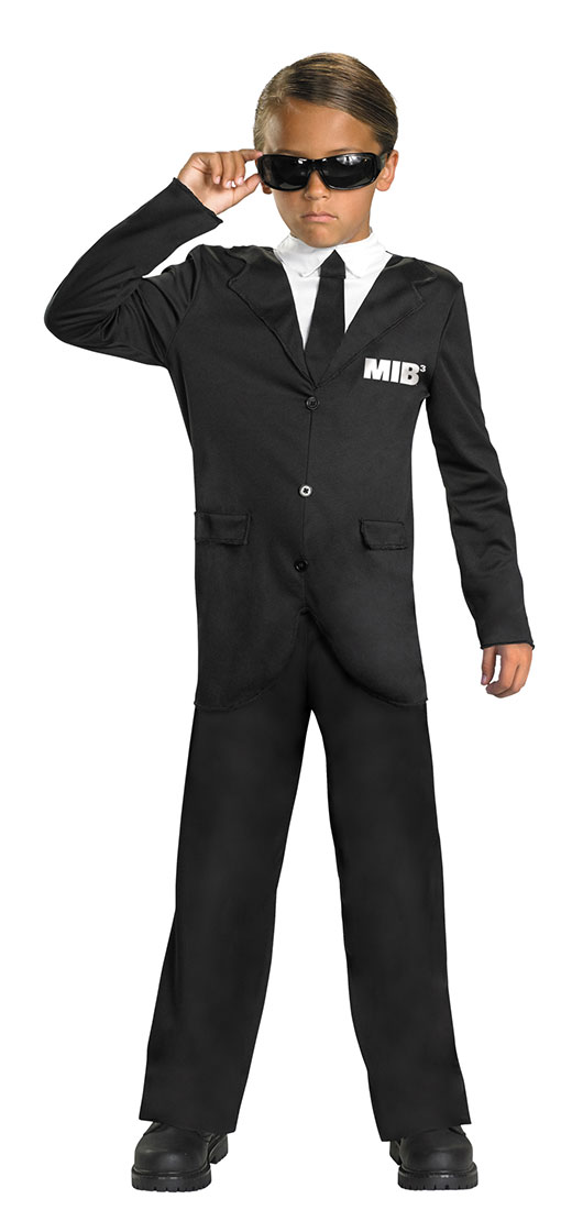 Kids Men In Black 3 Costume