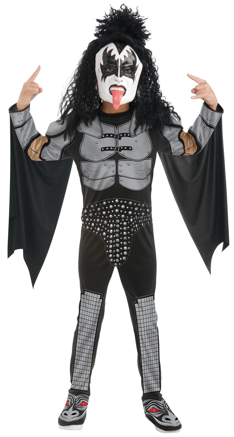 Teen KISS Gene Simmons The Demon Costume