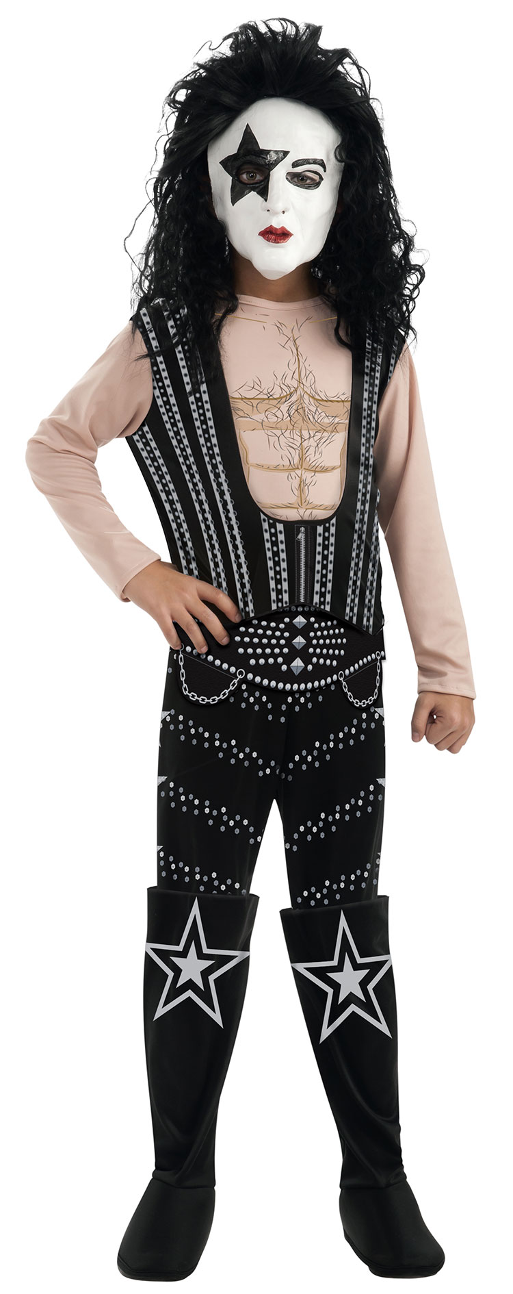Deluxe Teen KISS Pauly Stanley The Starchild Costume