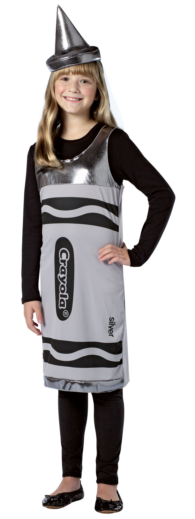 Tween Silver Crayola Costume Dress