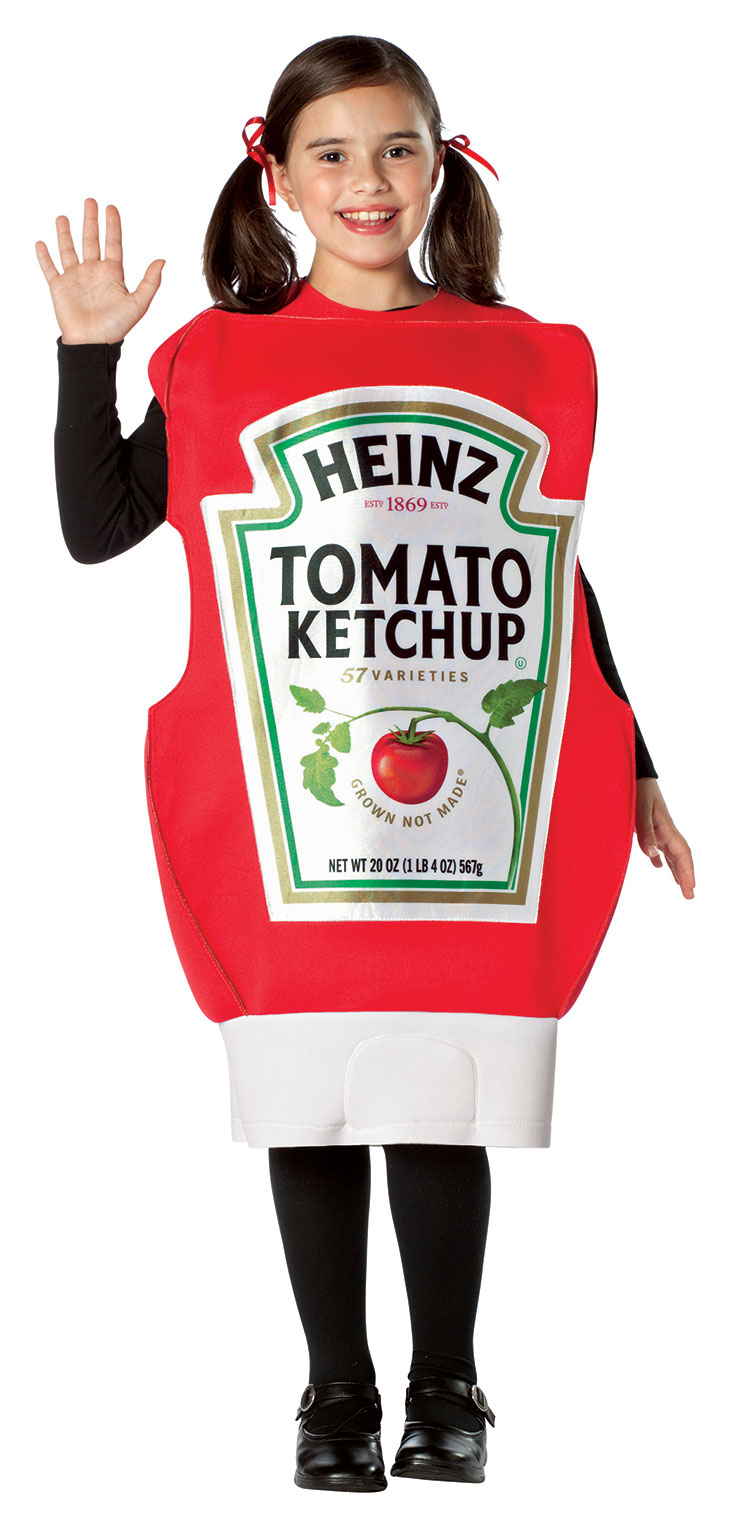 Kids Heinz Ketchup Squeeze Bottle Costume