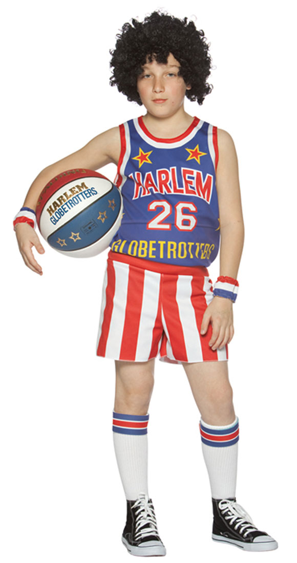 Kids Globetrotters Costume