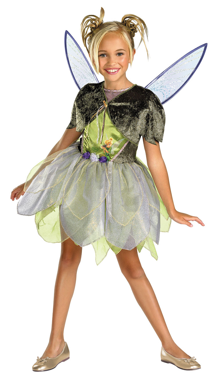 Girls Deluxe Tink And The Lost Treasure Costume