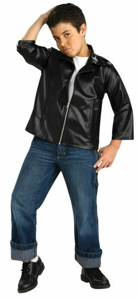 Kids 50s Greaser Jacket Costume