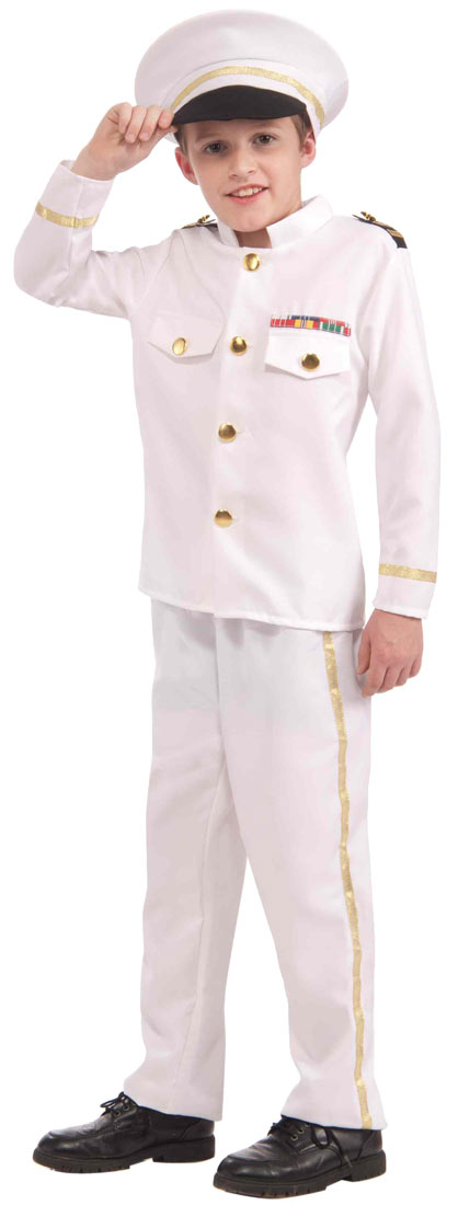 Navy Admiral Costume For Kids