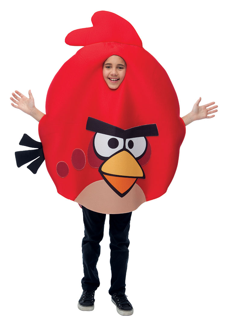 Angry Birds Red Bird Costume For Kids