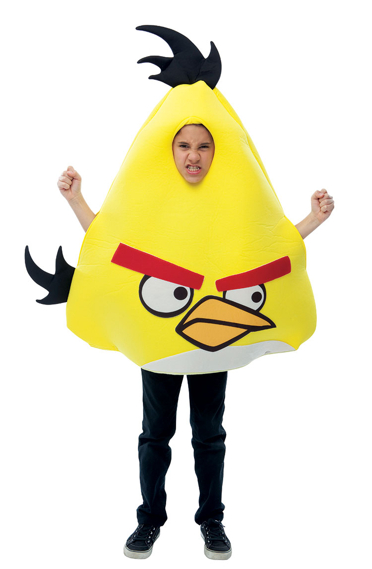 Angry Birds Yellow Bird Costume For Kids : Costumes Life