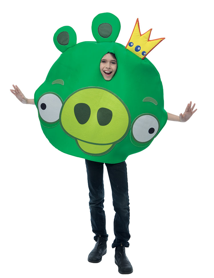 Angry Birds King Pig Costume For Kids