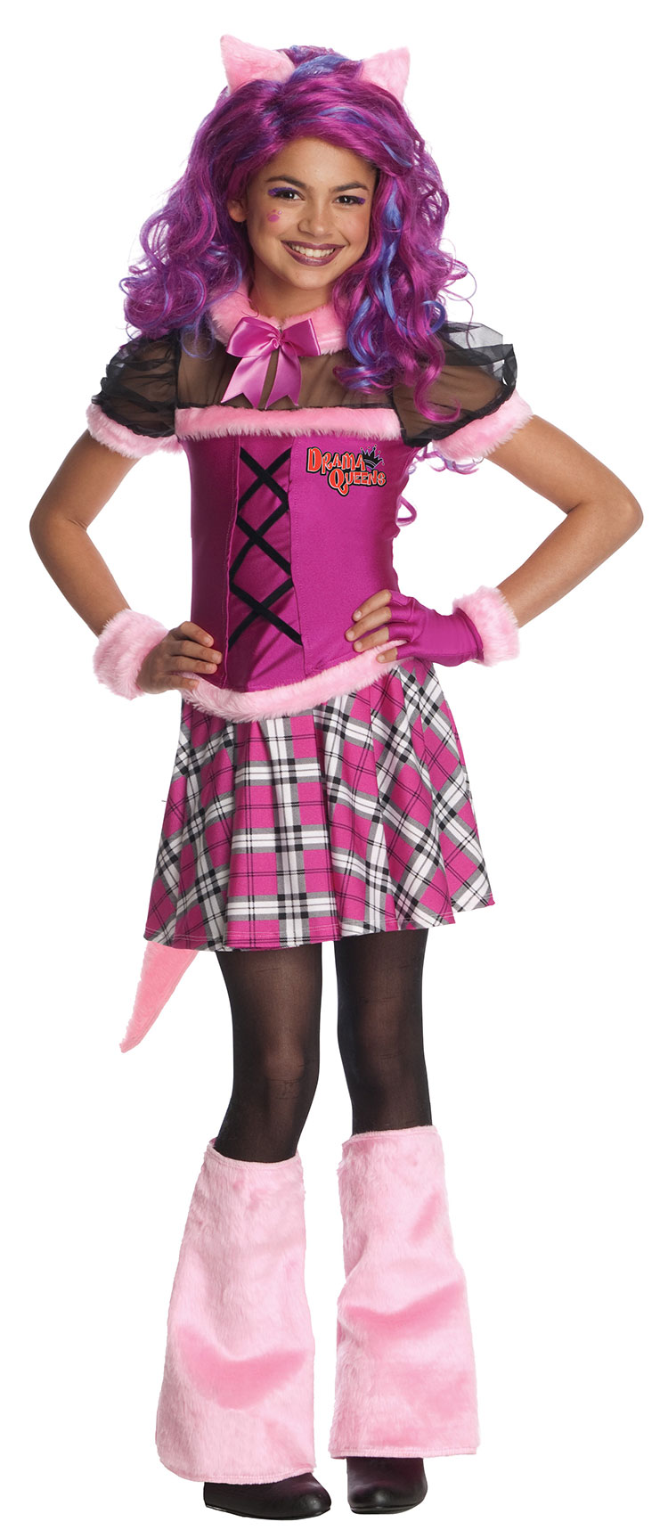 Girls Wild Thang Costume